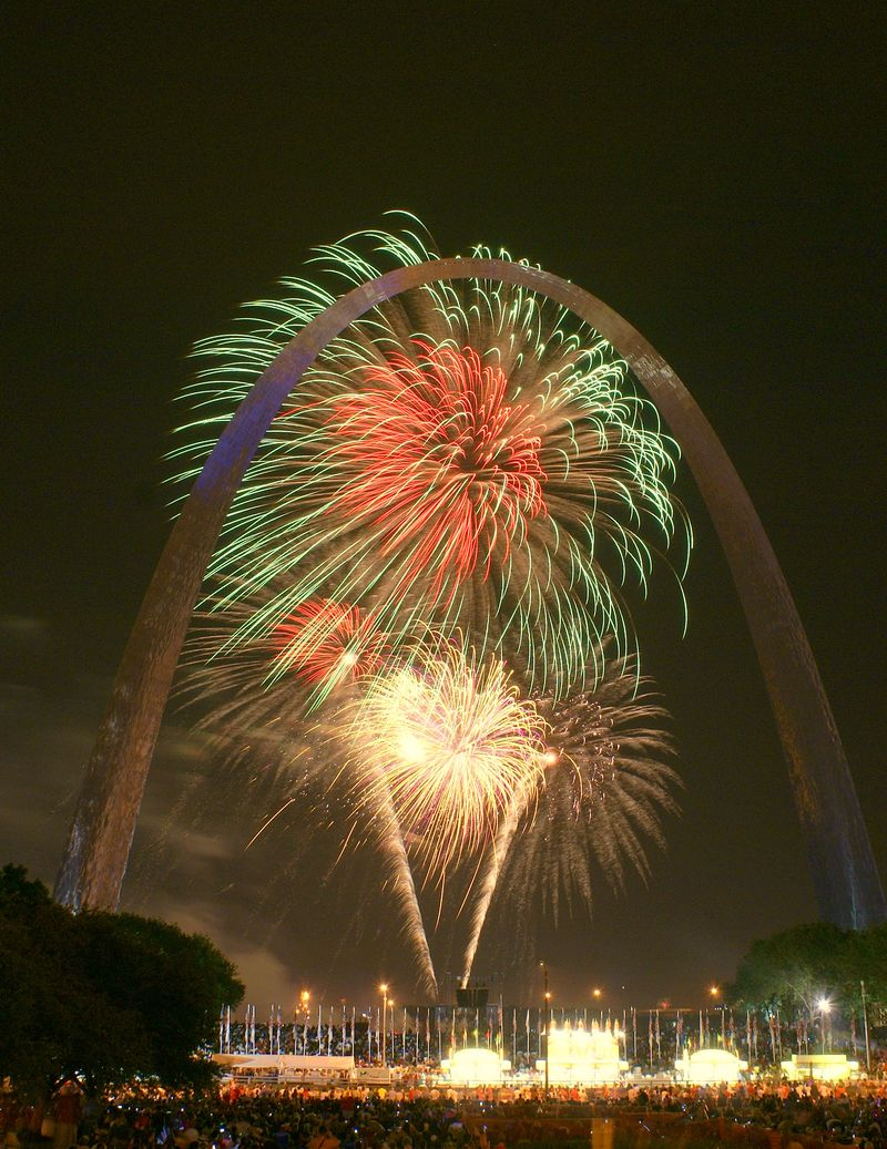 St. Louis and Fireworks 044