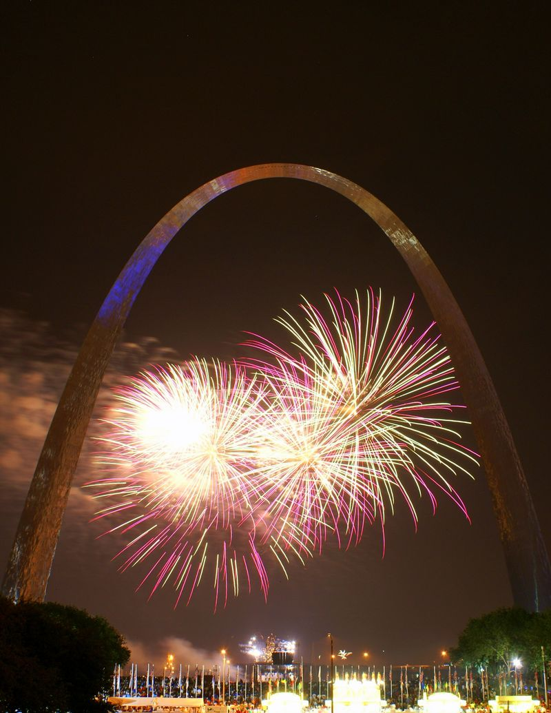 St. Louis and Fireworks 047
