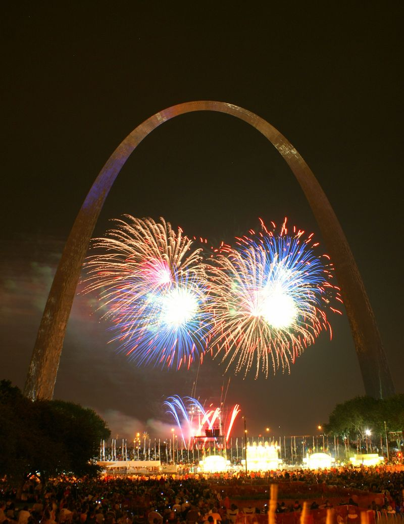 St. Louis and Fireworks 051