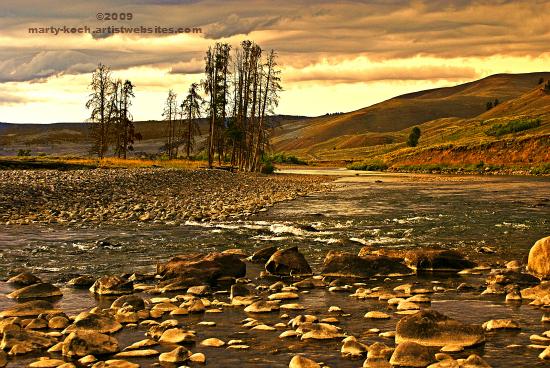 Along The Lamar River low res